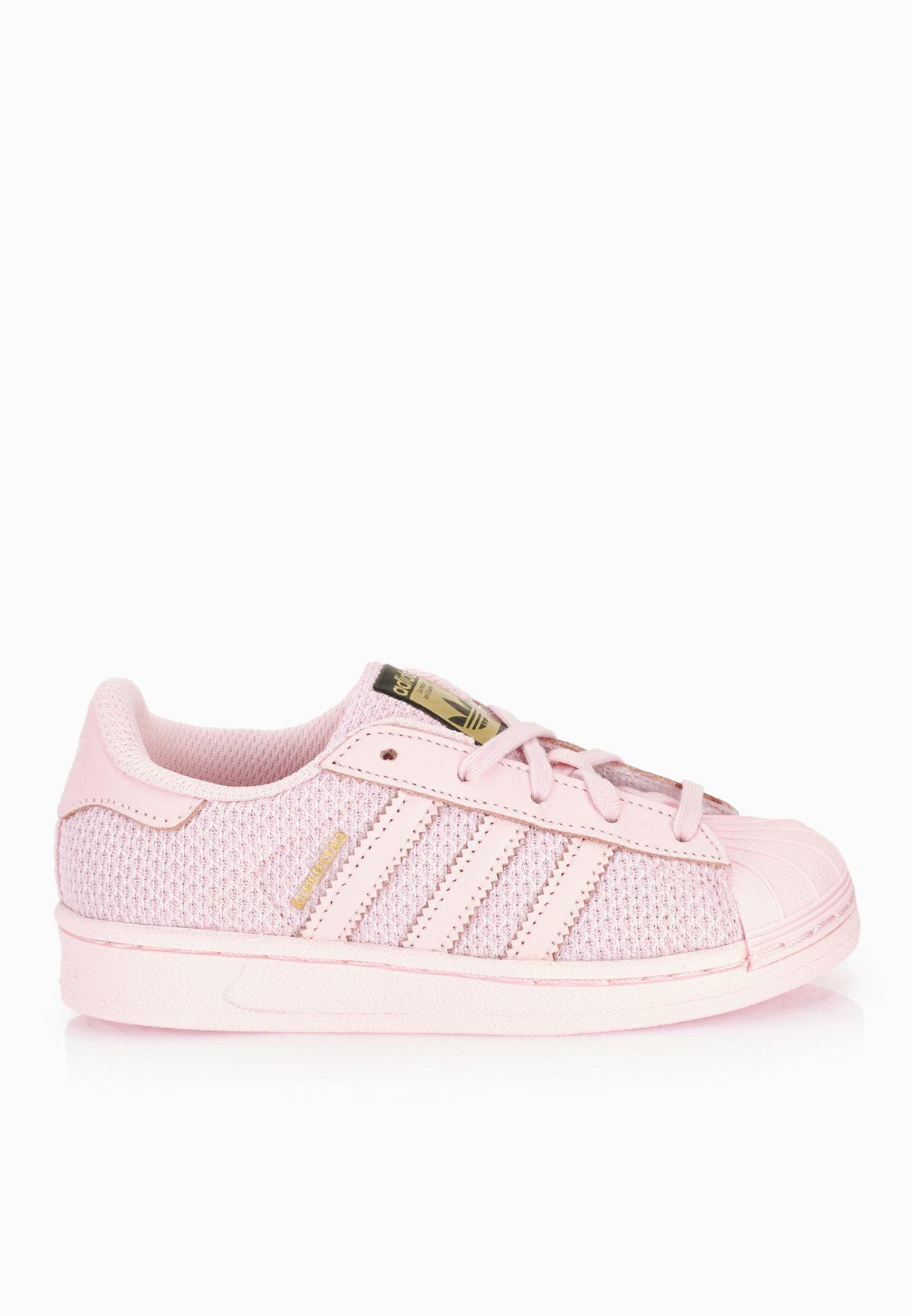 2eb2a3742ae Shop adidas Originals pink Superstar Kids S76616 for Kids in UAE ...