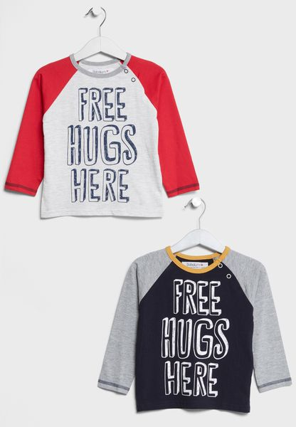 Infant 2 Pack Assorted T-Shirts