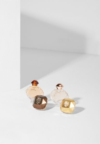 4 Pack Miniature Set Feminine