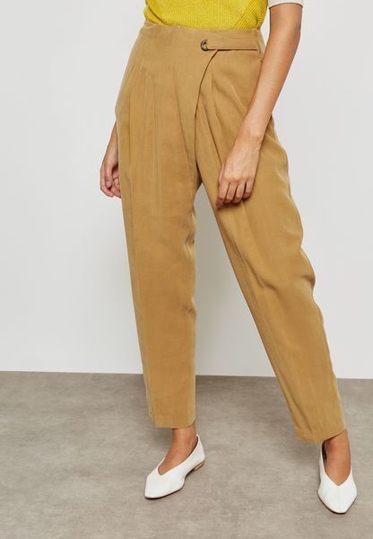 Ring Detail Pants