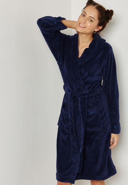 Fleece Long Robe