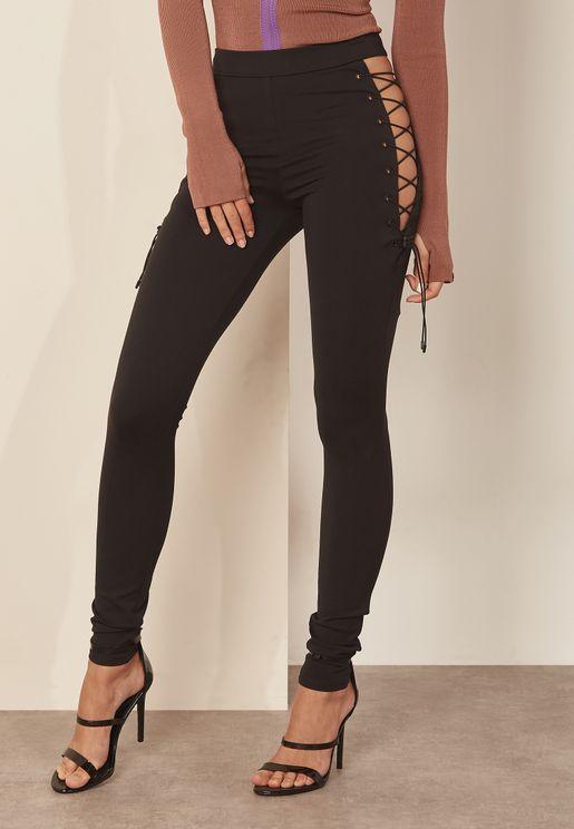 Side Laced Leggings
