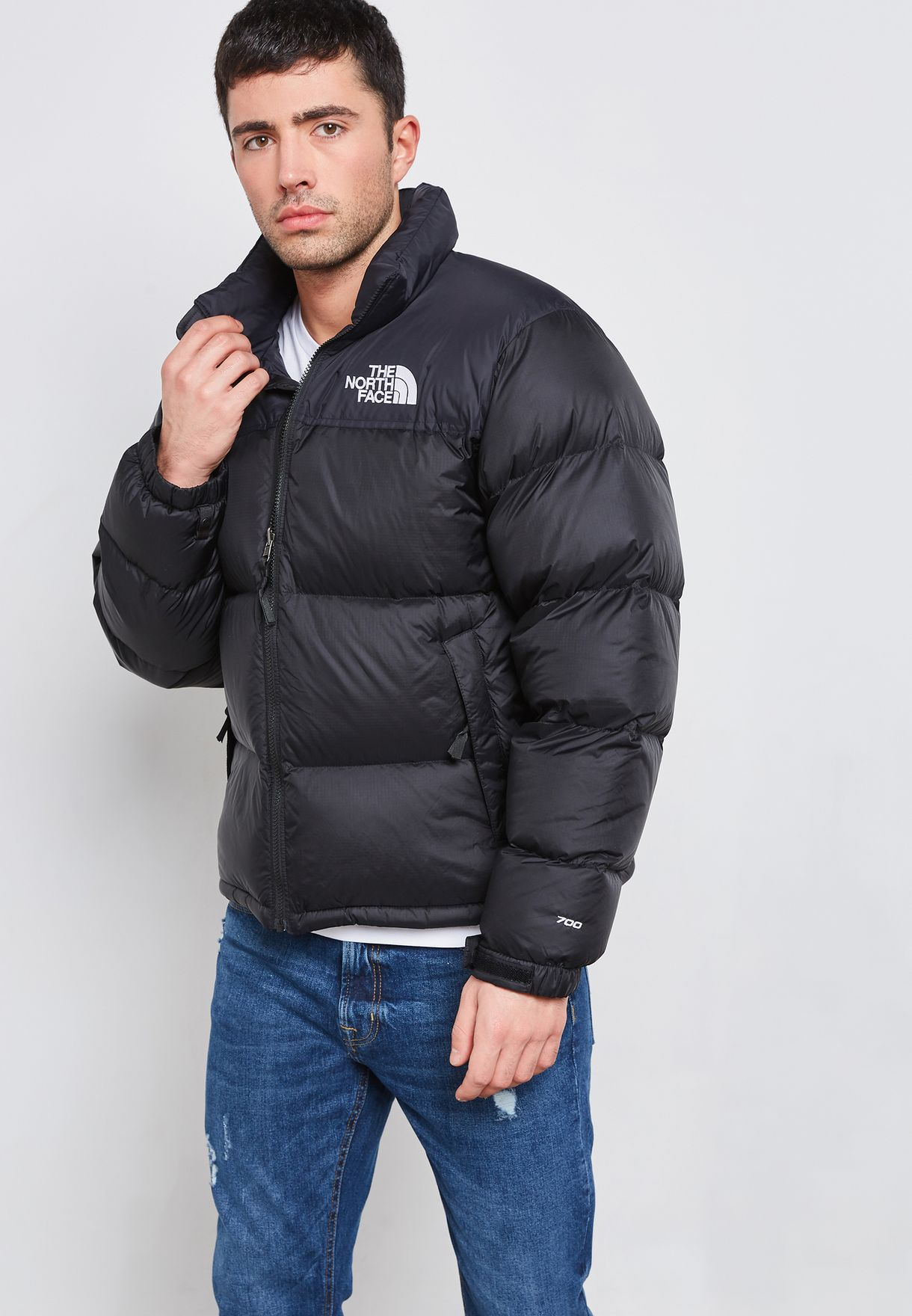 cb0b3de13e Shop The North Face black 1996 Retro Nuptse Jacket T93C8D-JK3 for ...