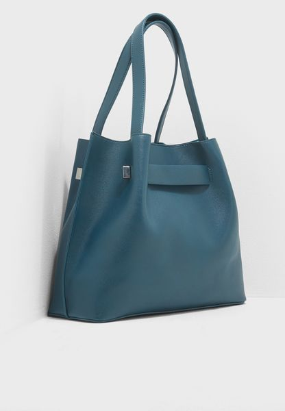 Chris Rouched Unlined Tote