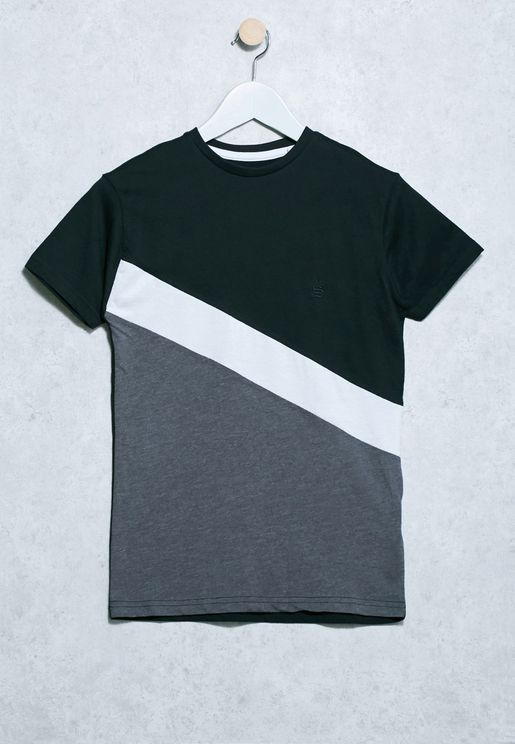 Tween Color Block T-Shirt
