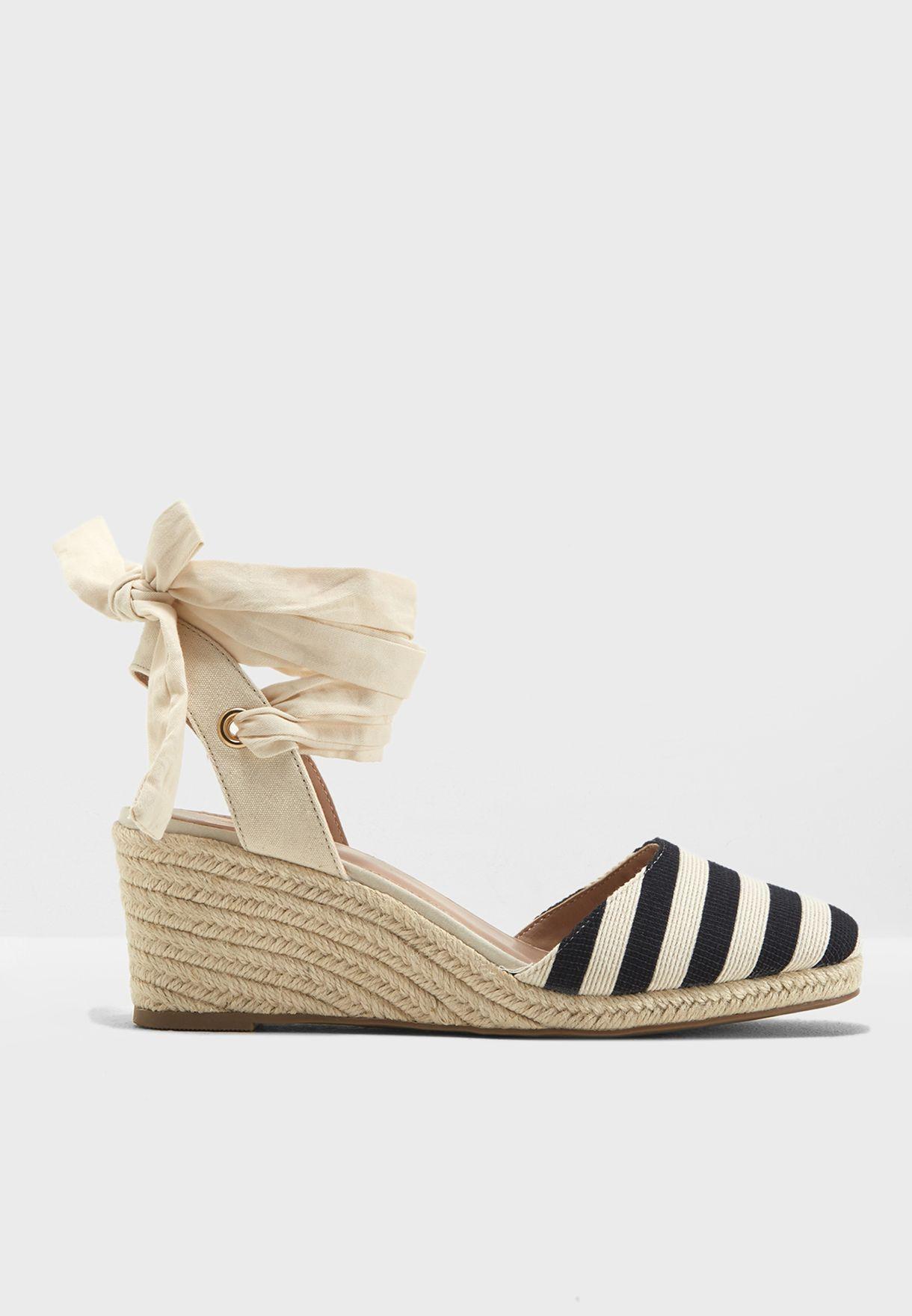 1982e07e15edba Shop Miss Selfridge multicolor Mimi Striped Wedge 51M09WMUL for Women in  Oman - MI858SH12CZN