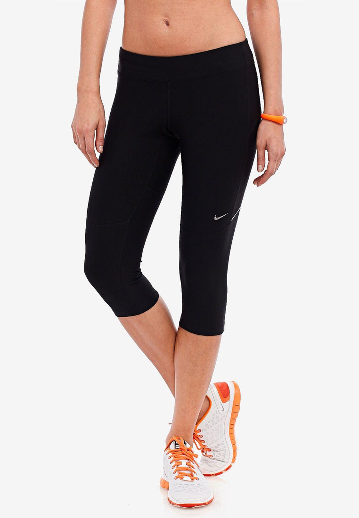 ellos Deducir Recoger hojas  Buy Nike black Filament Capri for Women in MENA, Worldwide | 519841-010