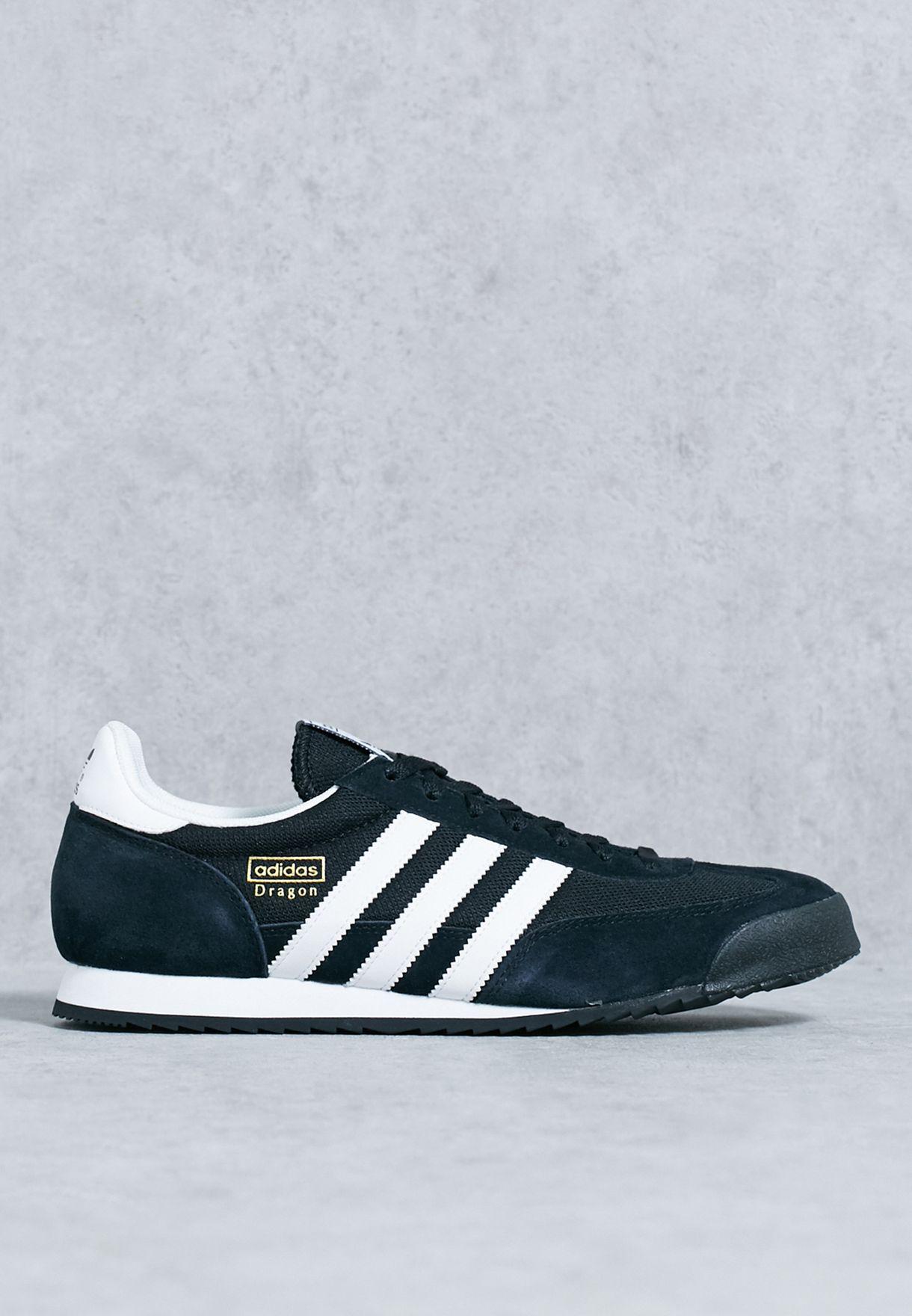 Shop adidas Originals black Dragon G16025 for Men in Qatar - AD478SH12ITF 33fe17174