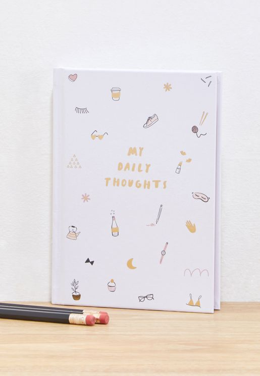 My Daily Thoughts Journal
