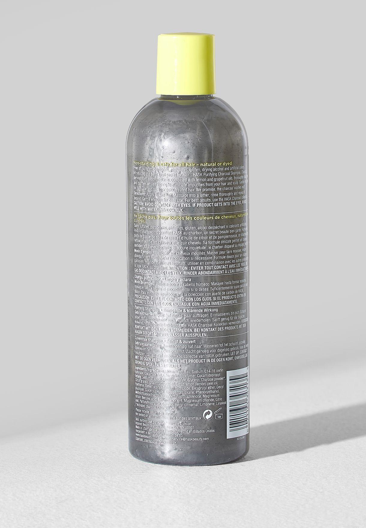 Charcoal Purifying Shampoo - 355Ml