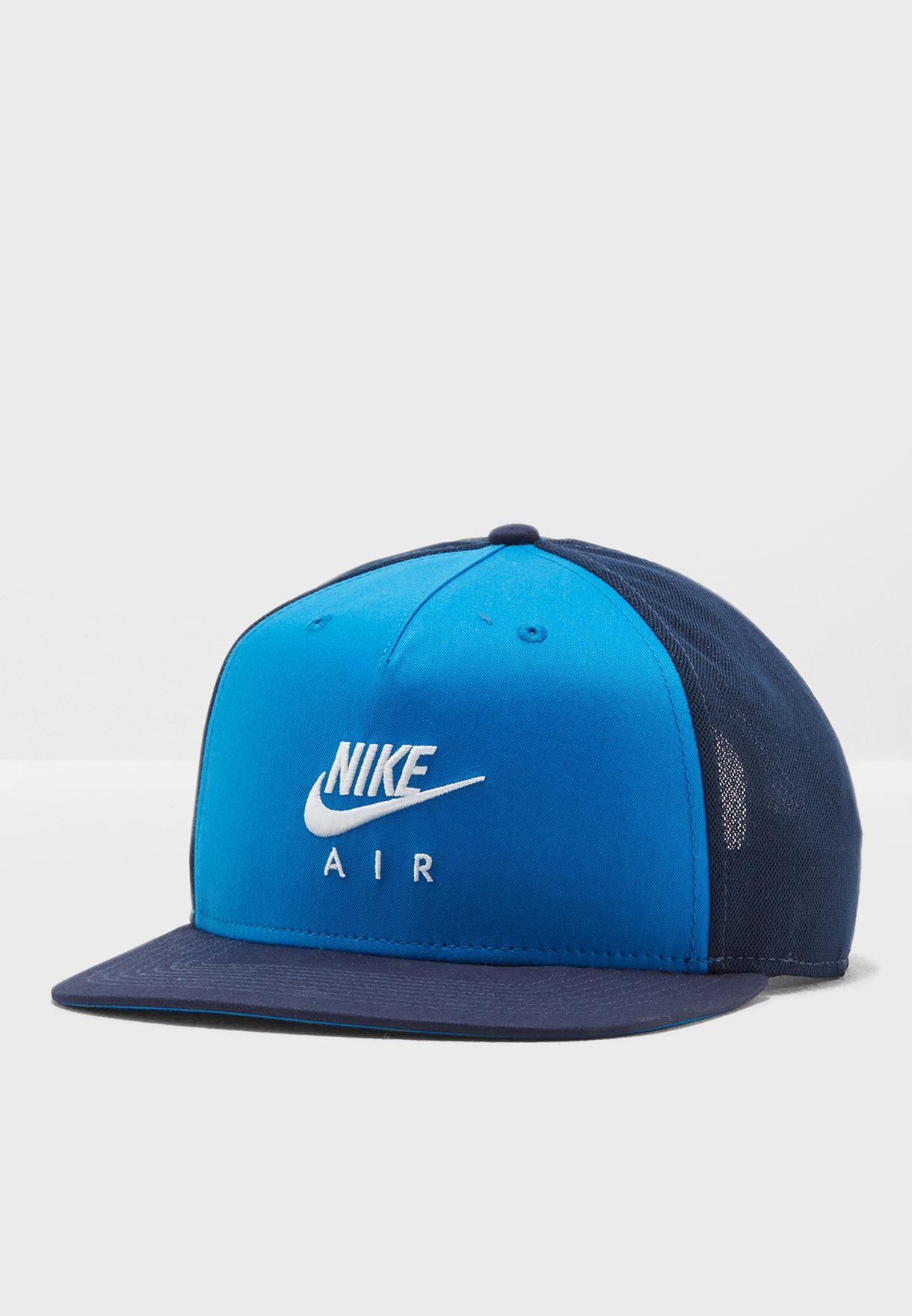Shop Nike blue Pro Air Cap 891299-465 for Men in Saudi - NI727AC12ZBR b927e79a50c4