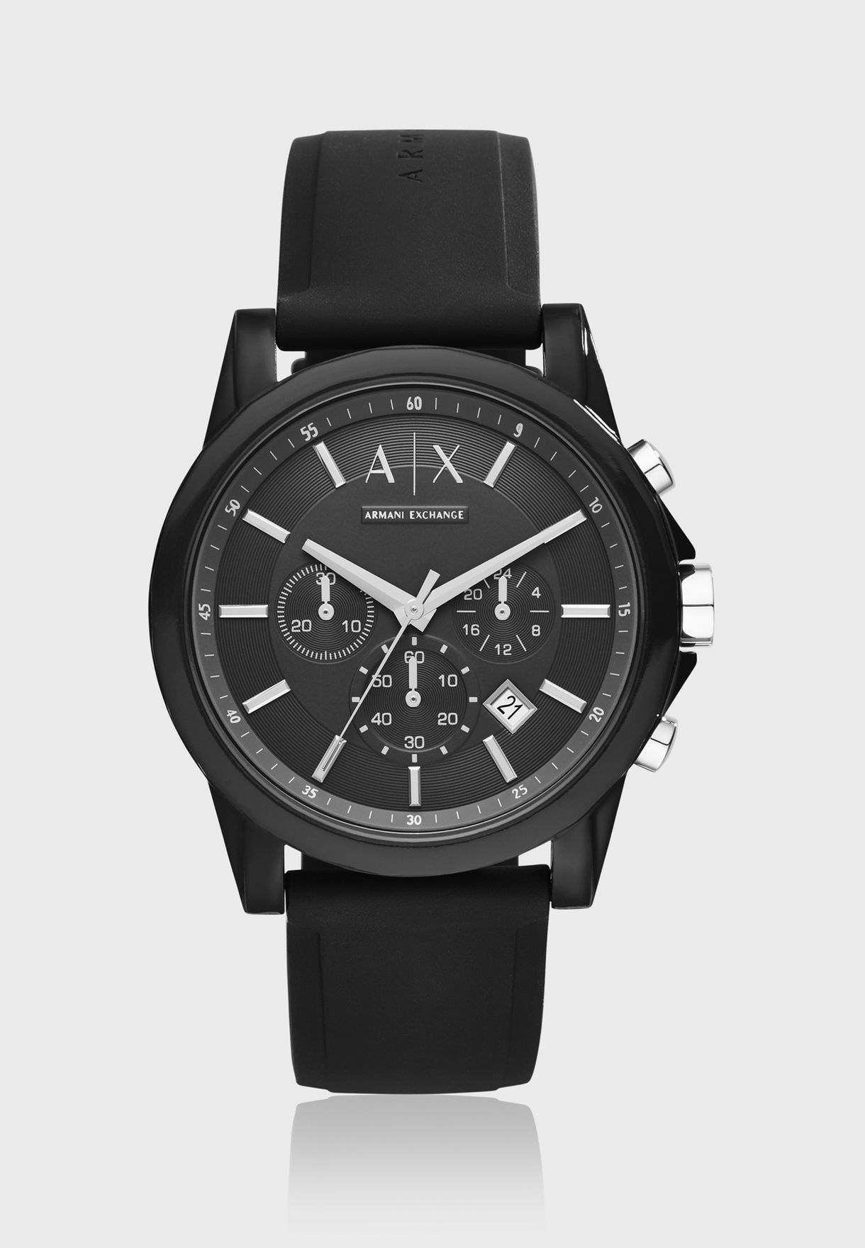fe32ed8fa75 Shop Armani Exchange black AX1326 Dress Watch AX1326 for Men in UAE ...