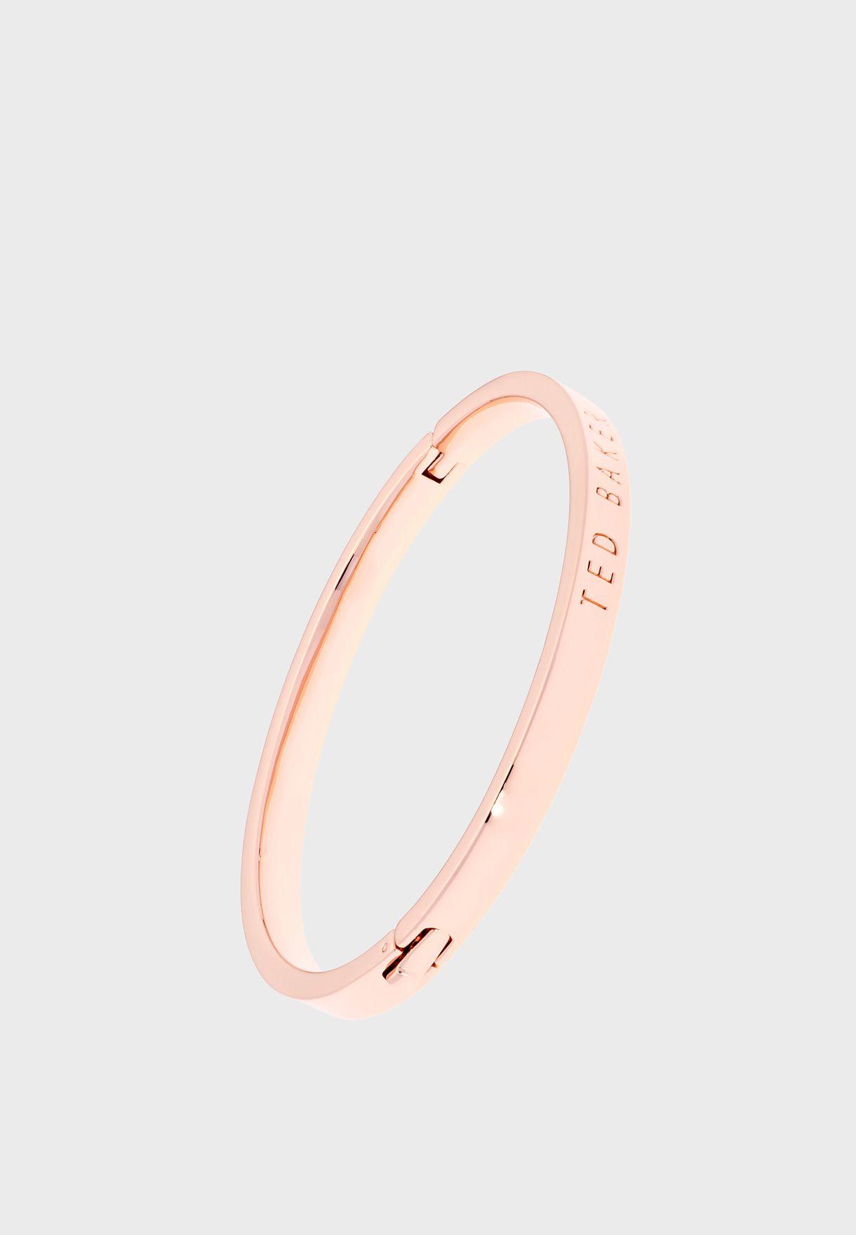 Clemina Hinge Metallic Bracelet