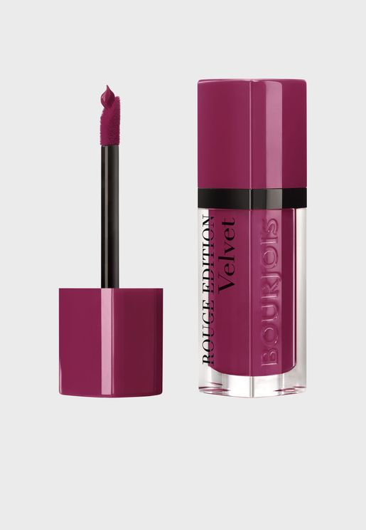 Rouge Edition Velvet Liquid lipstick 14 Plum Plum Girl
