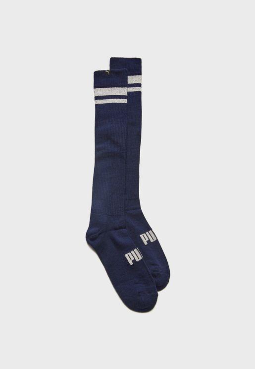 Lurex Kneehigh Socks
