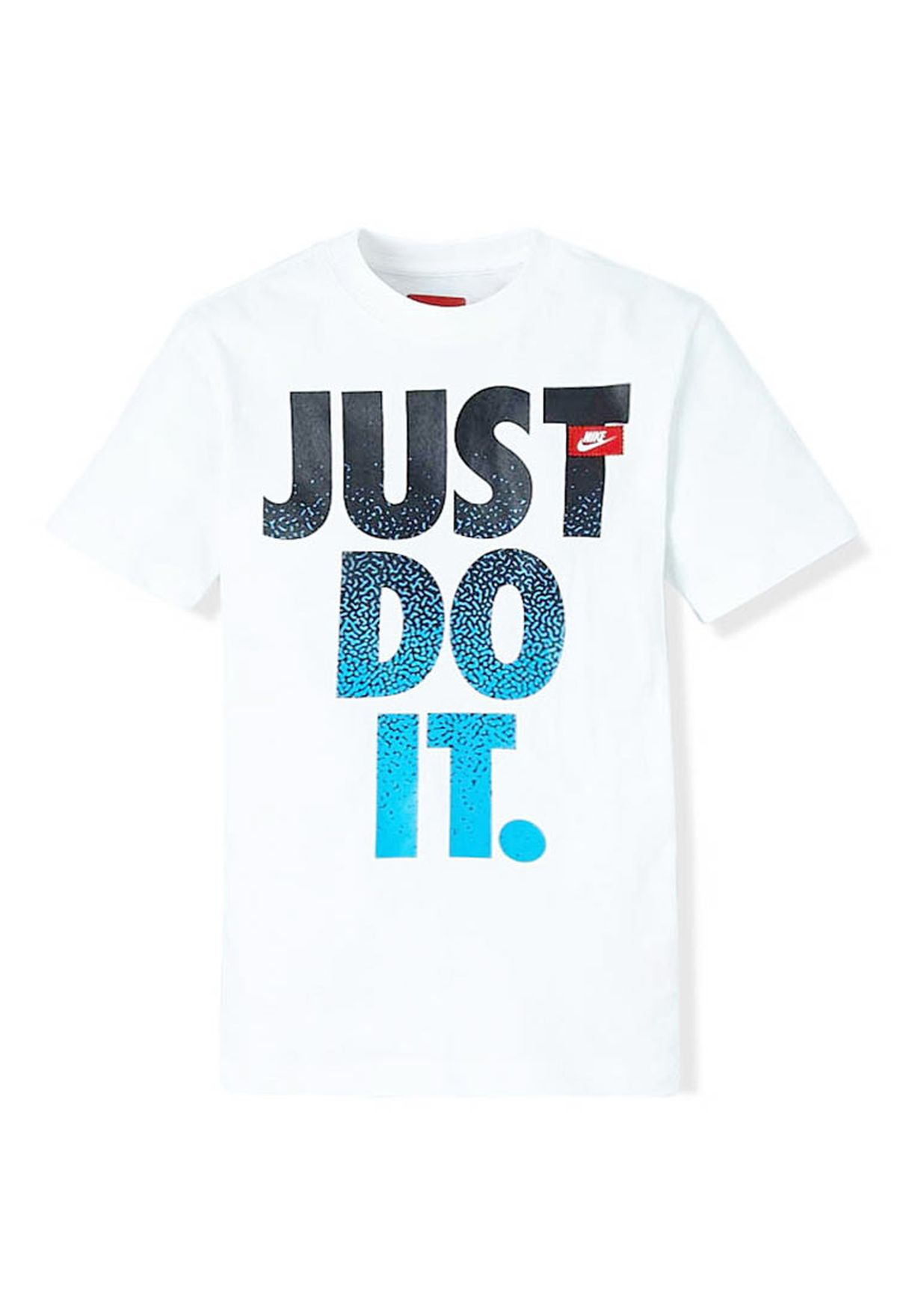 e7bc829b9ffa Shop Nike white JDI SS T-Shirt NKAP616617-100 for Kids in Kuwait ...