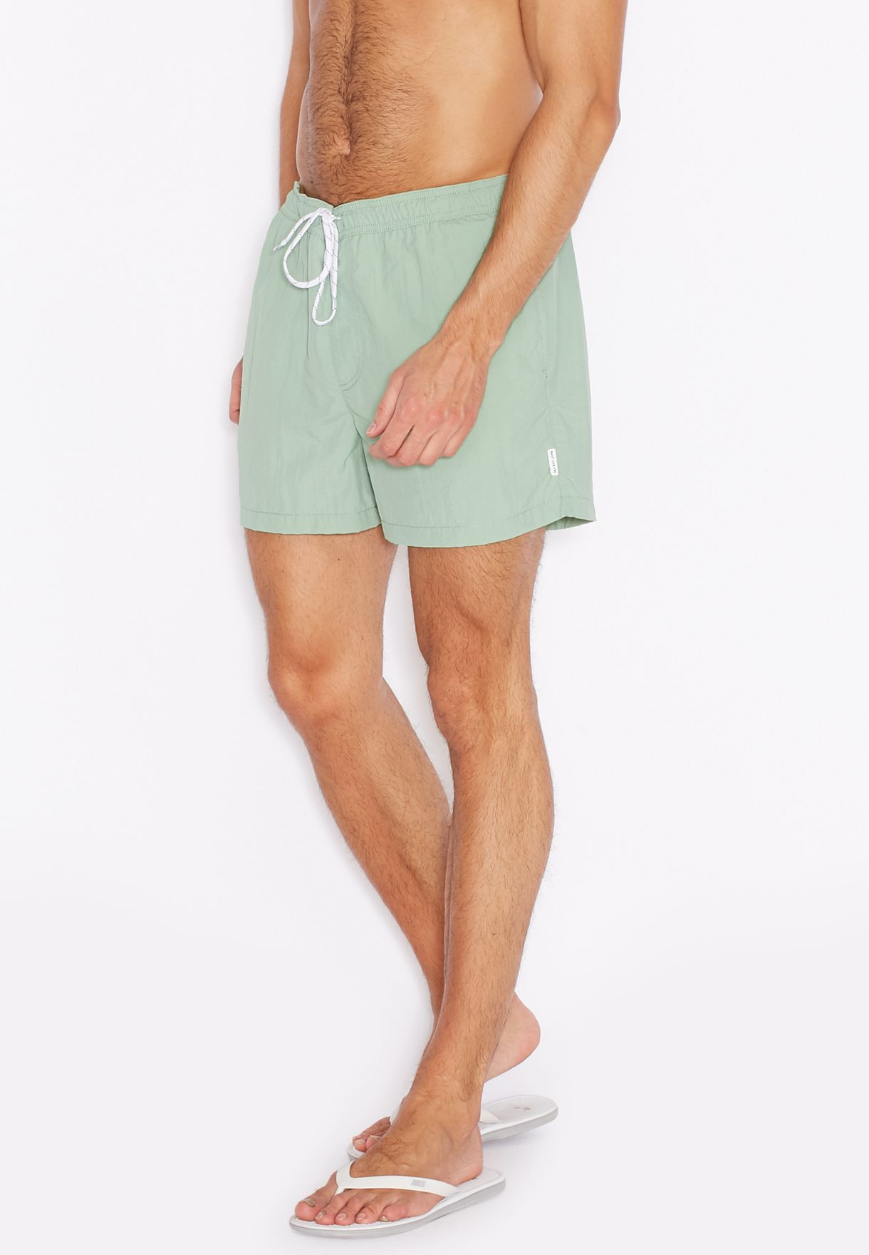 b71f2dfbd0 Shop Jack Jones green Malibu Swim Shorts for Men in Oman - JA872AT12RID