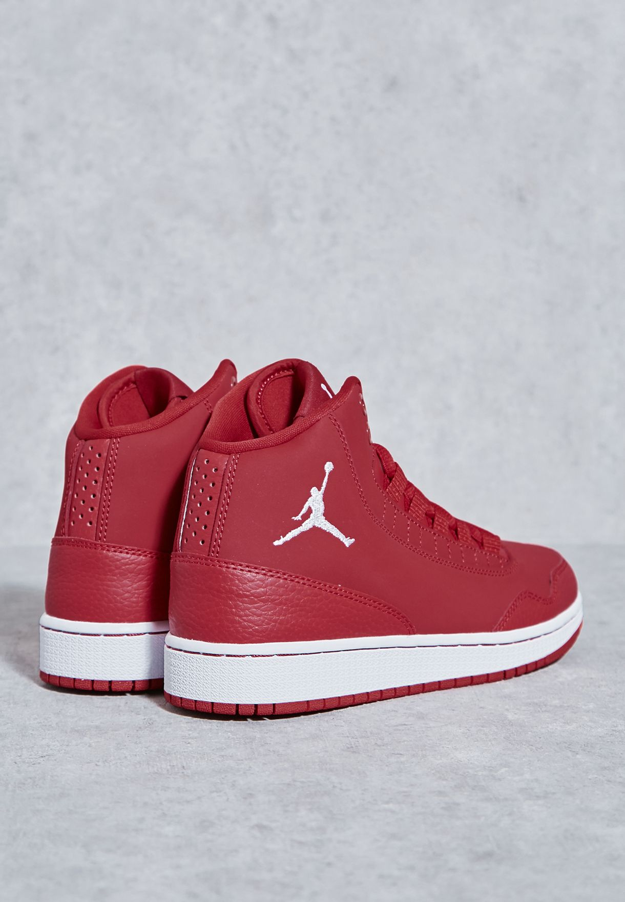 d22f39f1841 Shop Nike red Jordan Executive Youth 820241-602 for Kids in Qatar ...