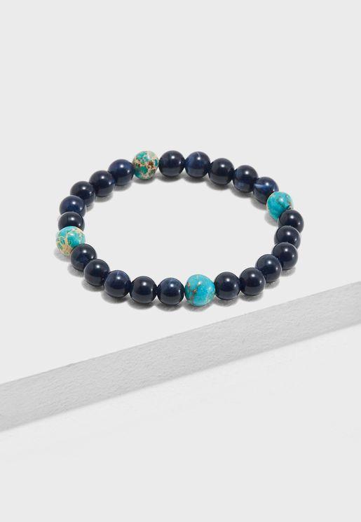 Globe Bead Bracelets