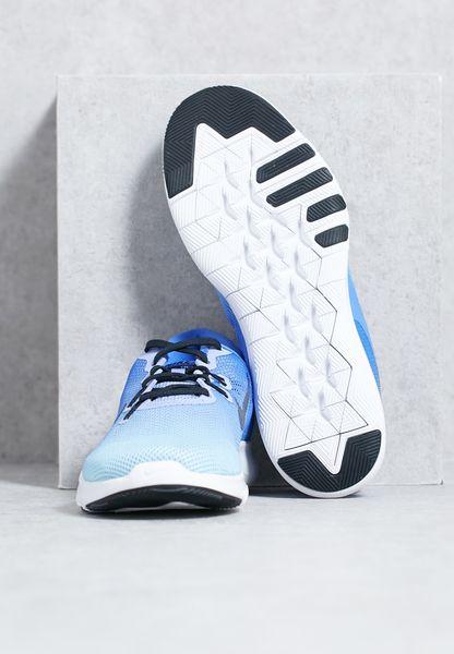 best website f1a68 f9e74 Shop Nike blue Free Form TR Fade 898480400 for Women in UAE low-cost