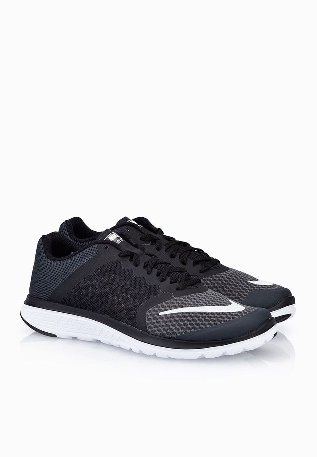 38c1ae35b156 Shop Nike black Fs Lite Run 3 807145-001 for Women in Saudi ...