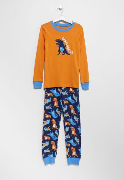 Infant Dino Fall T-Shirt+Pyjama Set