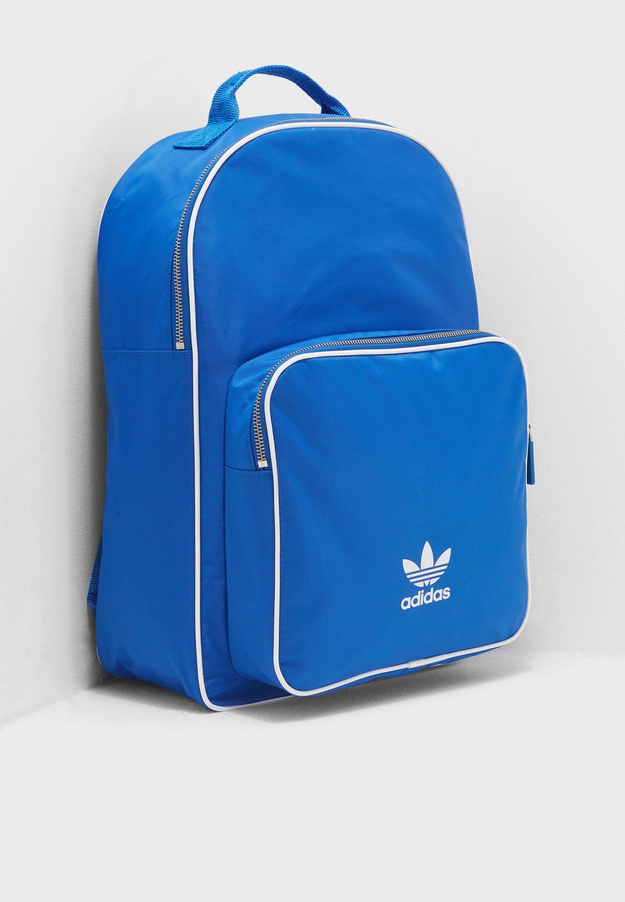 239b1dd4e3 Shop adidas Originals blue adicolor Classic Backpack CW0628 for Men ...