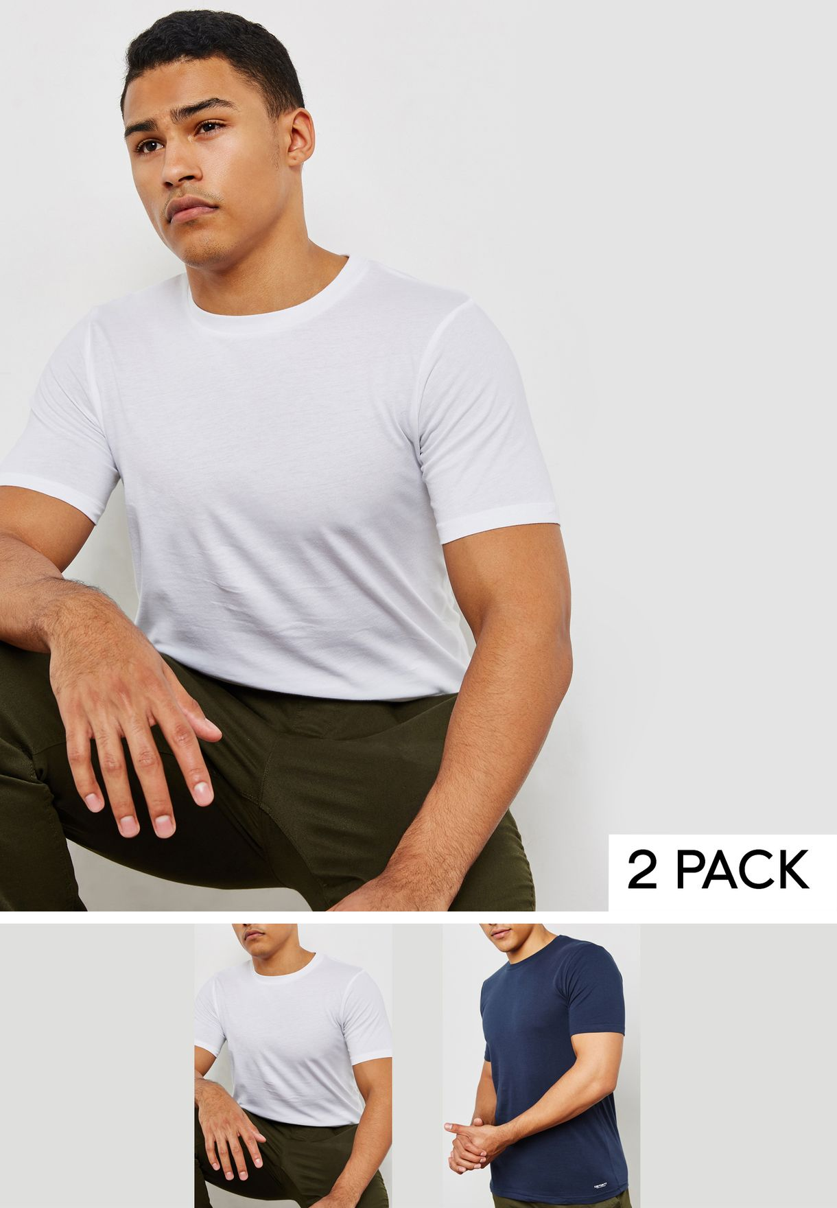 Essential 2 Pack T-Shirt
