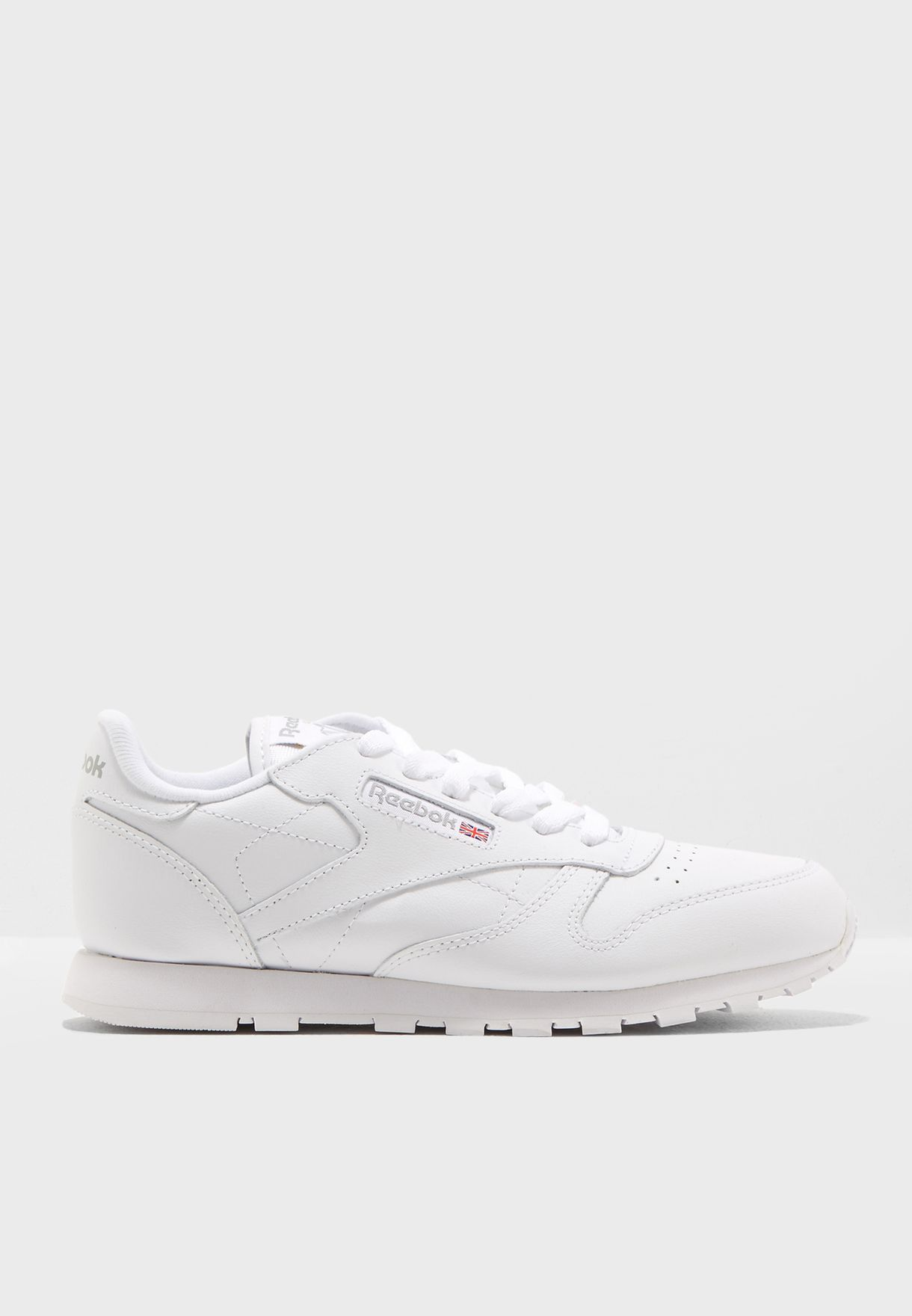 b46e6f46d2e4b Shop Reebok white Classic Leather Youth 50151 for Kids in UAE ...