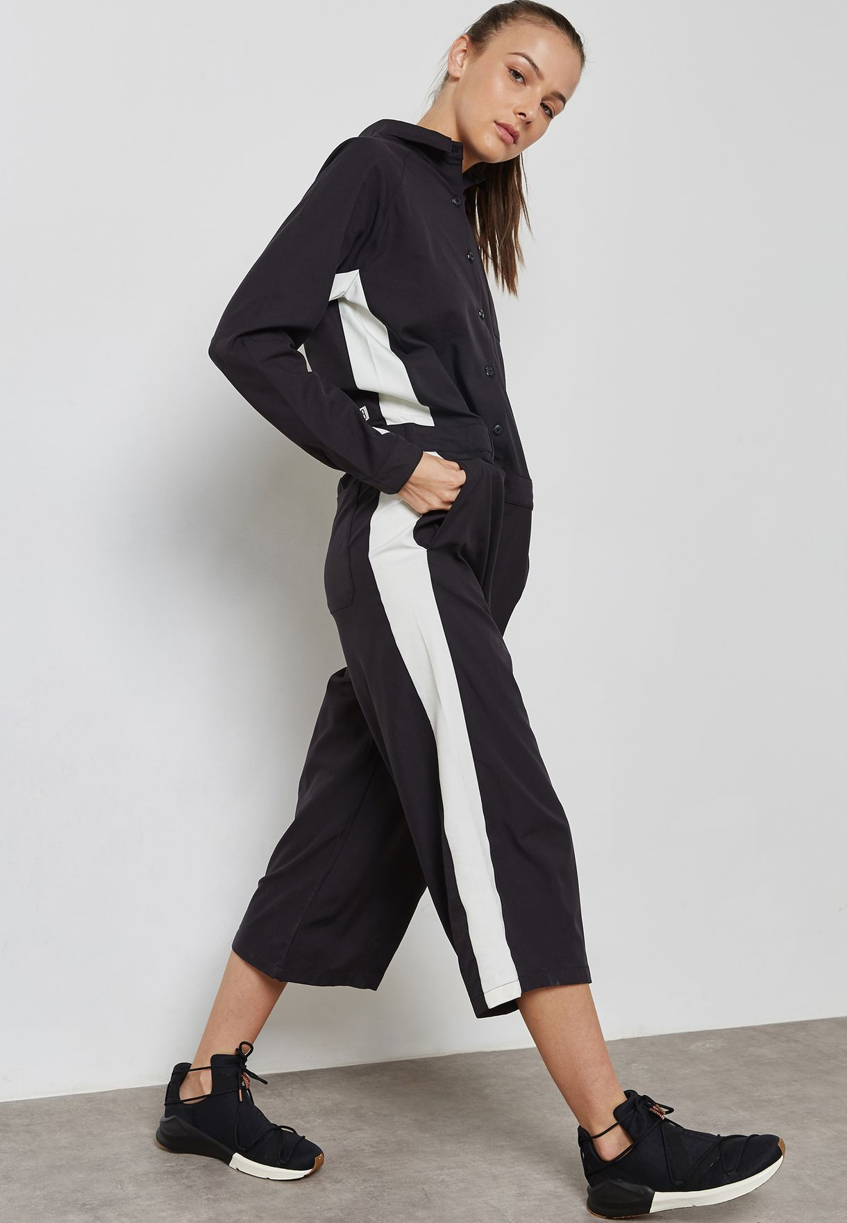 26218e6f267a Shop PUMA black True Archive Worker Overall Jumpsuit 57353101 for ...