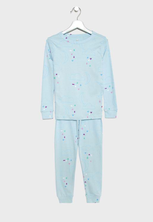 Kids Cloud Pyjama Set