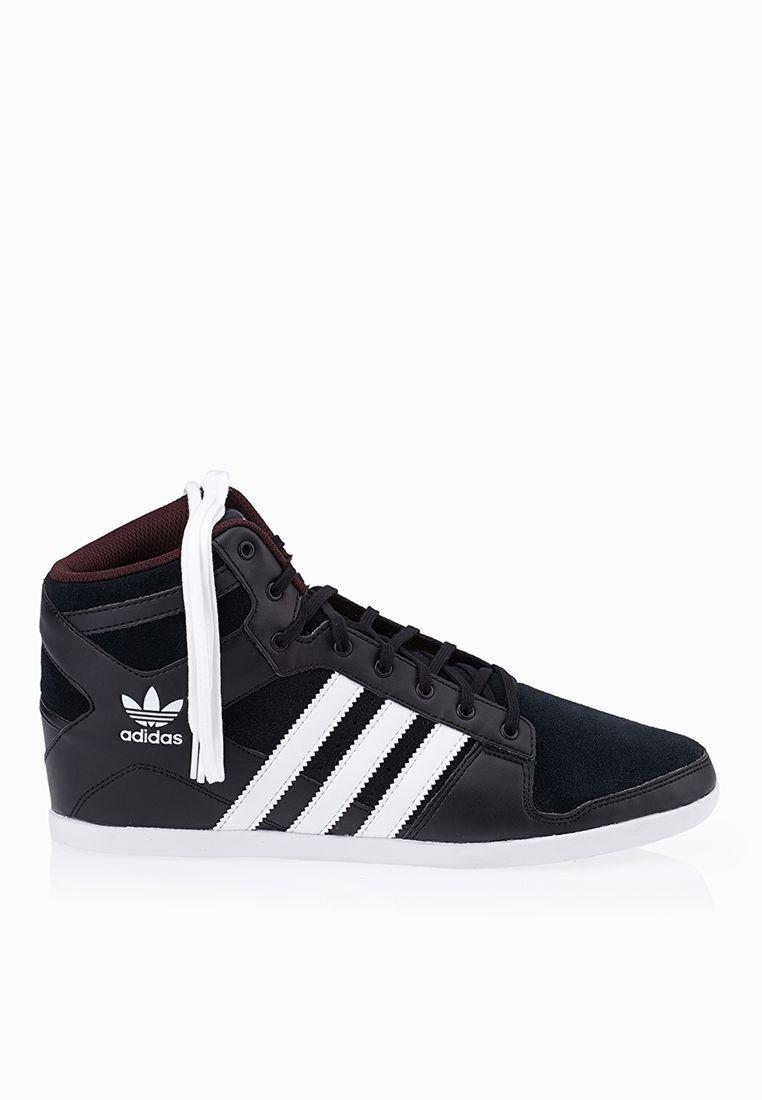 bianca van damme - Shop Adidas originals black Plimcana 2.0 Mid for Men in UAE