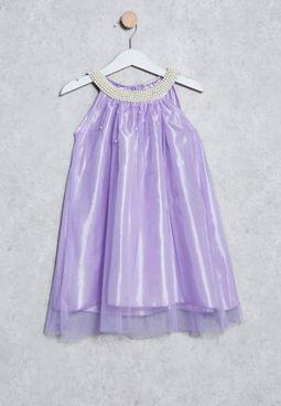 Kids Mesh Dress