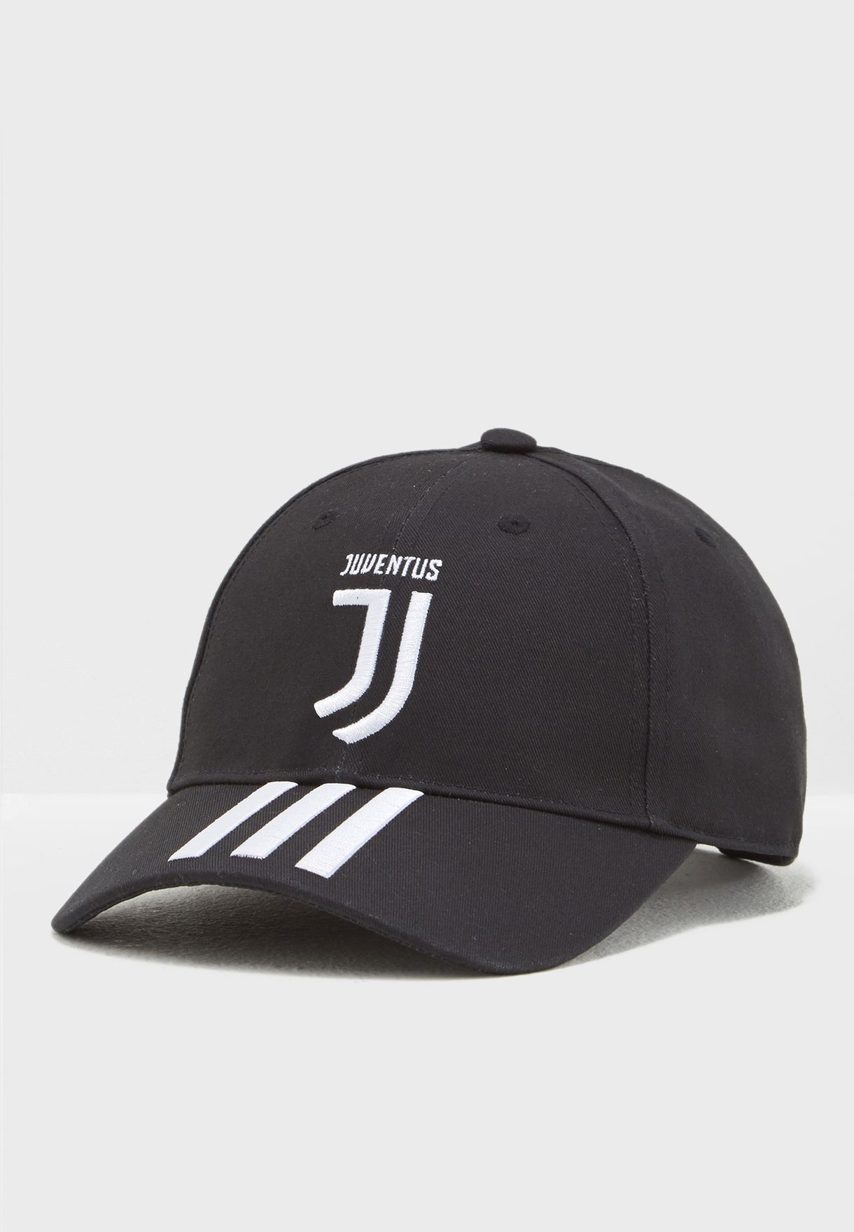 bf2aceda182 Shop adidas black Juventus 3 Stripe Cap CY5558 for Men in UAE ...