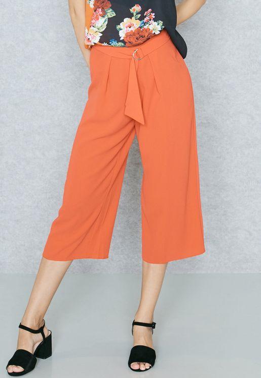 D-Ring Crop Pants