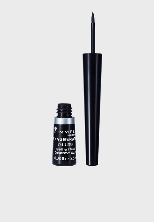 Exaggerate Liquid Eyeliner- 001 Black