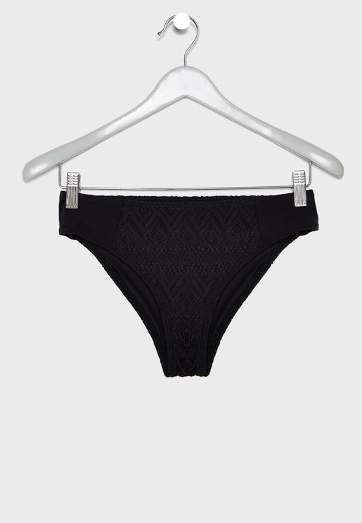 Lace Detail Bikini Bottom