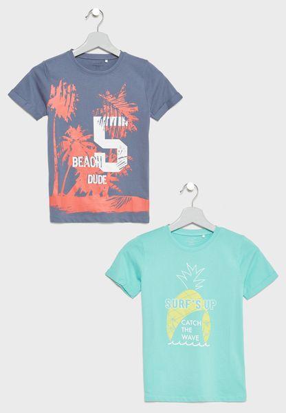 Teen 2 Pack Printed T-Shirts