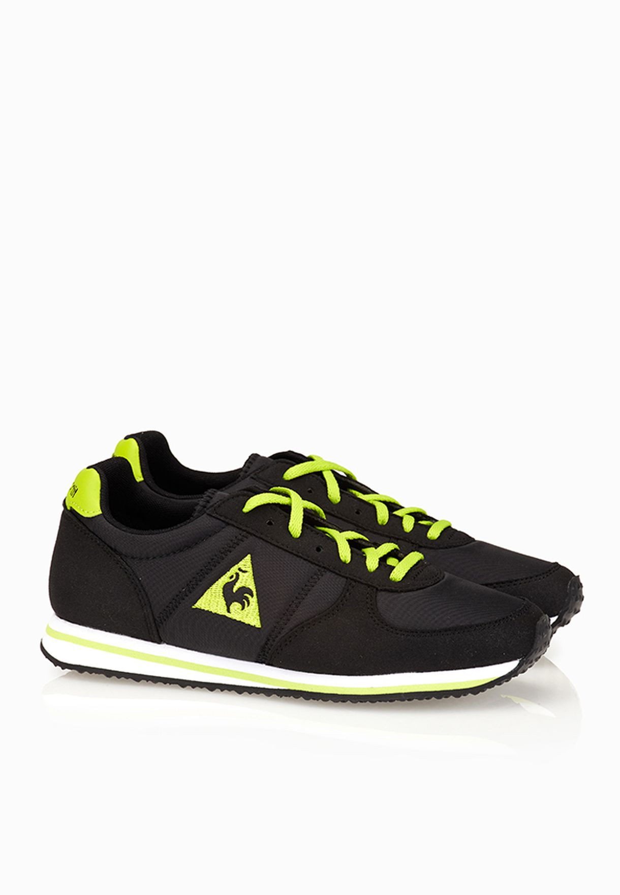 bdc351edb118 Shop Le Coq Sportif black Bolivar Youth for Kids in UAE - LE012SH02BGJ