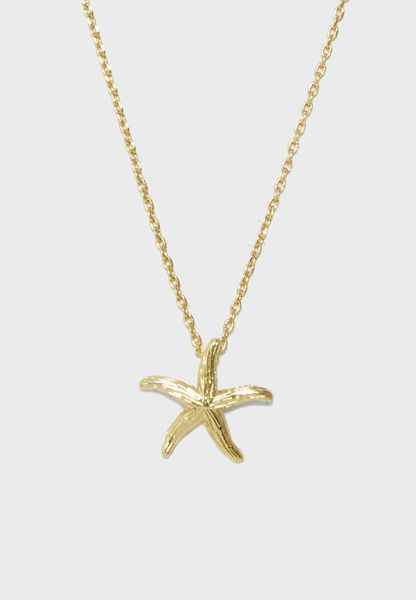 Starfish Ditsy Necklace
