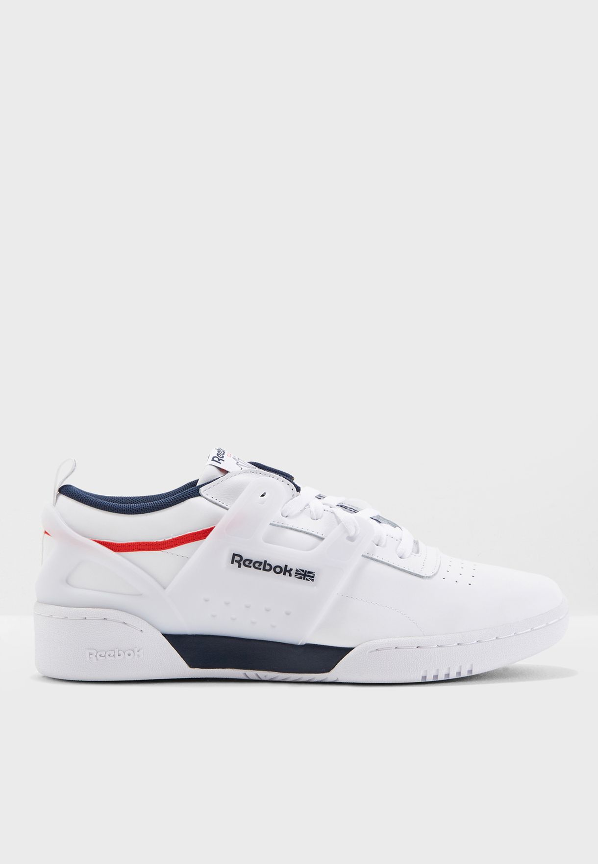 50ce3bef64a Shop Reebok white Workout ULS L CN4309 for Men in UAE - RE019SH02YTH