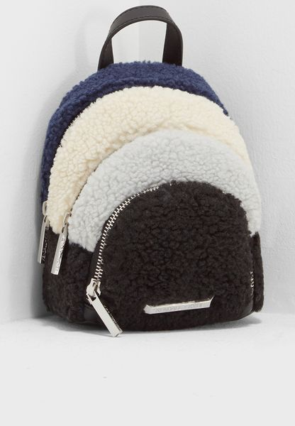 Sloane Shearling Backpack