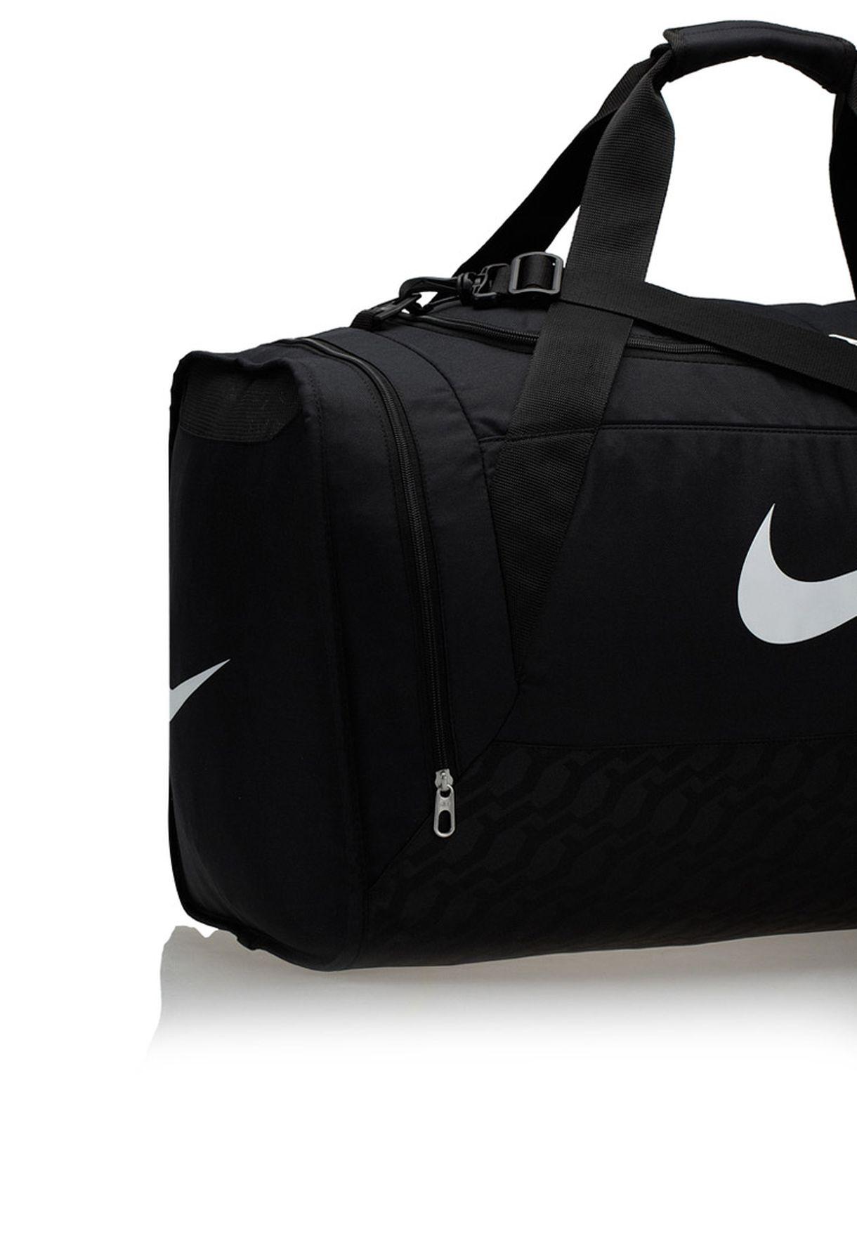 2262636eb1 Shop Nike black Brasilia 6 Large Duffel Bag BA4828-001 for Men in ...