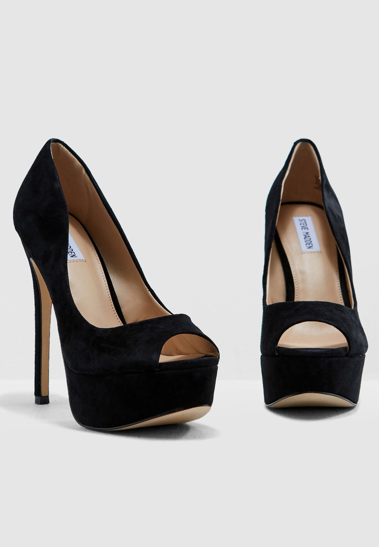 936812ca3b9 Shop Steve Madden black Toots Platform Pump TOOTS for Women in Saudi ...