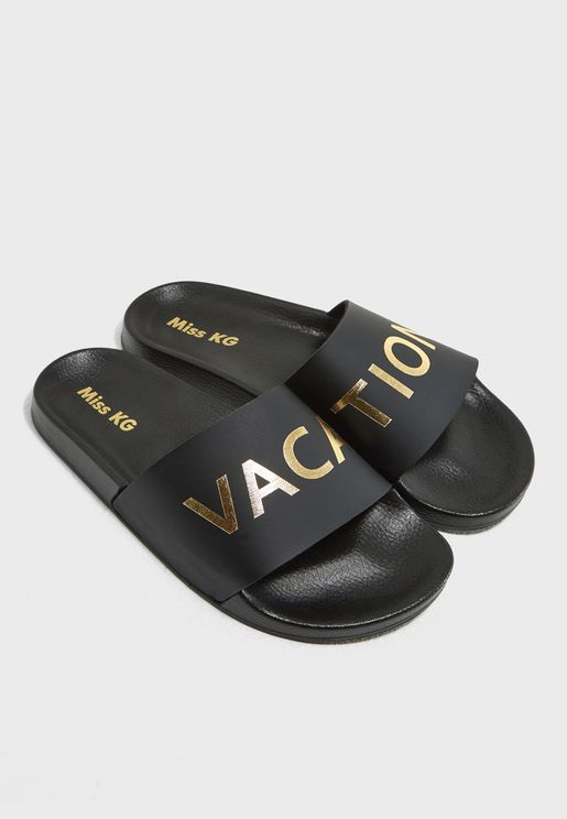 Vacation Casual Flat Sandals
