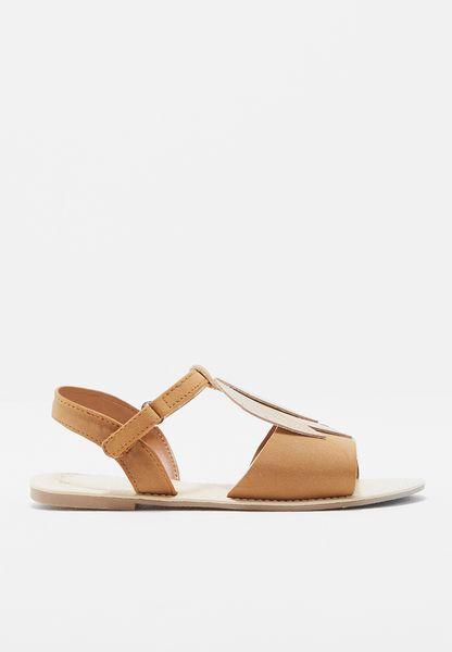Kids Leaf Sandals