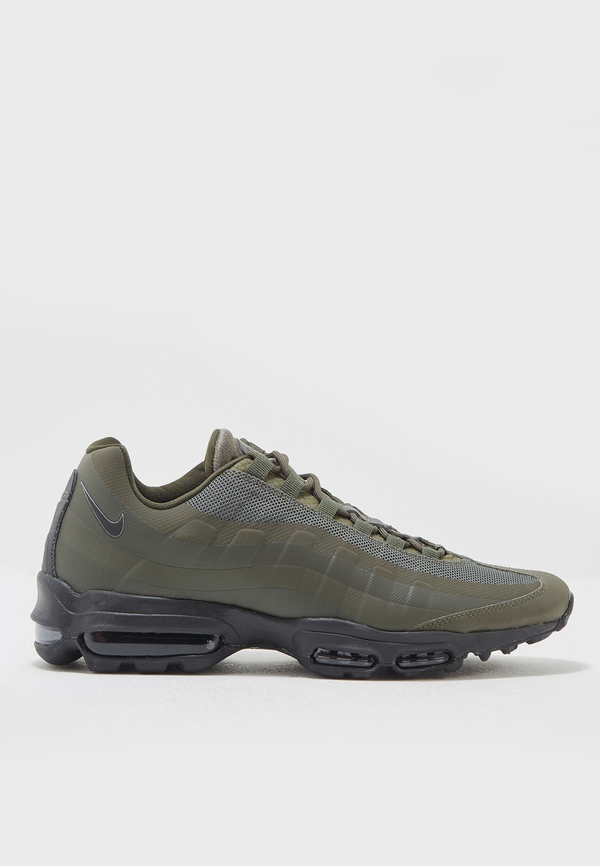 2305601542a Shop Nike green Air Max 95 Ultra Essential 857910-301 for Men in UAE ...
