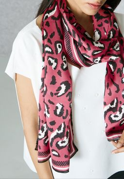 Sparkle Printed scarf