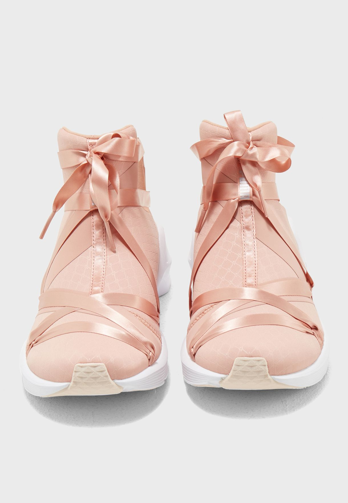 Shop PUMA pink En Pointe Fierce Rope Satin 19053801 for Women in UAE ... 63ee97e7b