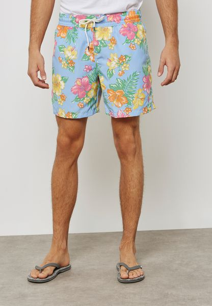 Hibicus Tropical Swim Shorts